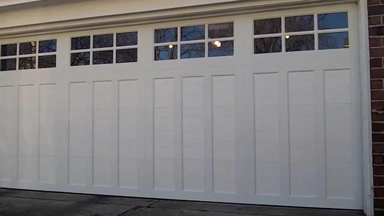 Clarendon Hillsil A Clopay Cd 13 Garage Door Pvc Overlay Model