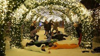 Снежные танцы. Snowy Kizomba Dancing(Зимой сезон танцевального хобби в нашей дружной компании не заканчивается и это видео тому доказательств..., 2017-01-28T12:23:58.000Z)