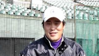 ヤマハ野球部佐藤選手の2011年の抱負.