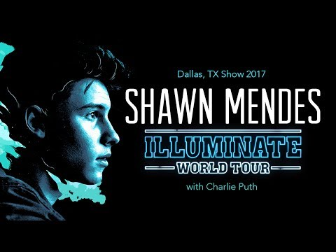 Shawn Mendes Illumination Tour 2017 (featuring Charlie Puth)