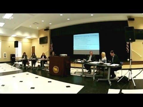 Board of Education Work Session - May 9, 2016