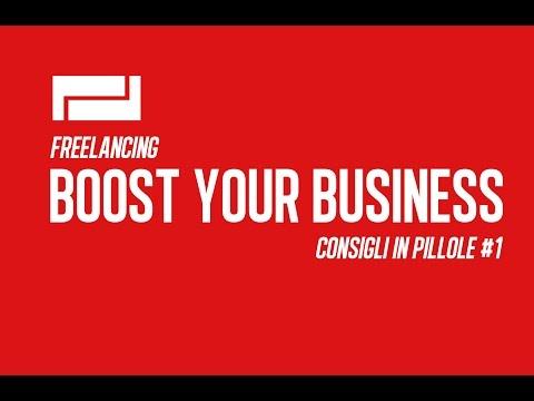 Consigli in pillole per migliorare il tuo Business da Freelance #1