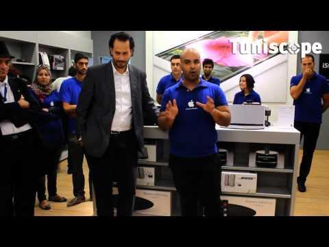 En vidéo : Ouverture du iStore 2.0 à Tunis City