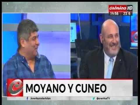 Crónica TV - 1 + 1 Pablo Moyano y Santiago Cuneo
