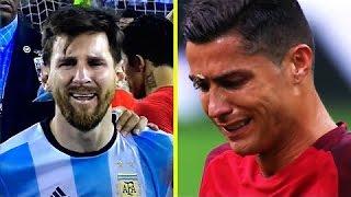СЛЁЗЫ ВЕЛИКИХ ФУТБОЛИСТОВ | Лучшие моменты в футболе 2016