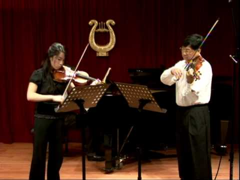 Bach: concerto for Two Violins in D minor 1st Movement