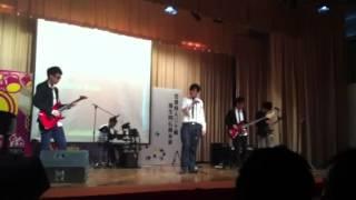 蔡功譜中學@sing con band show :)