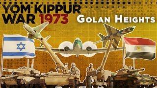 Yom Kippur War 1973 - Golan Heights Front DOCUMENTARY