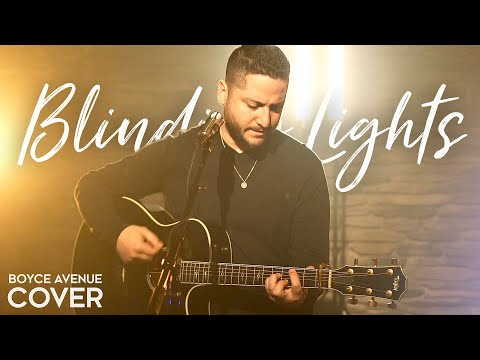 Music video Boyce Avenue - Blinding Lights