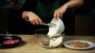 Rhubarb Crumble Ice Cream Recipe From Waitrose