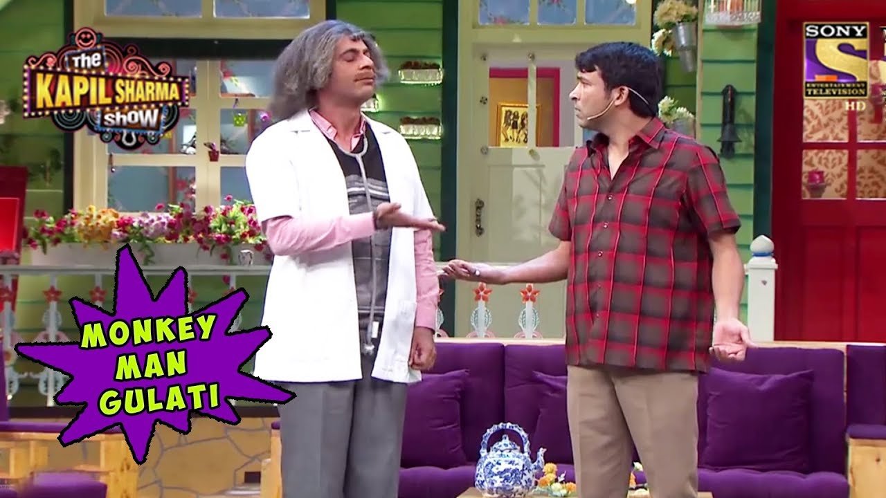 Chandu Calls Dr  Mashoor Gulati A Monkey - The Kapil Sharma Show