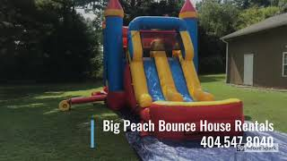 BIG 🍑PEACH BOUNCE HOUSE RENTALS