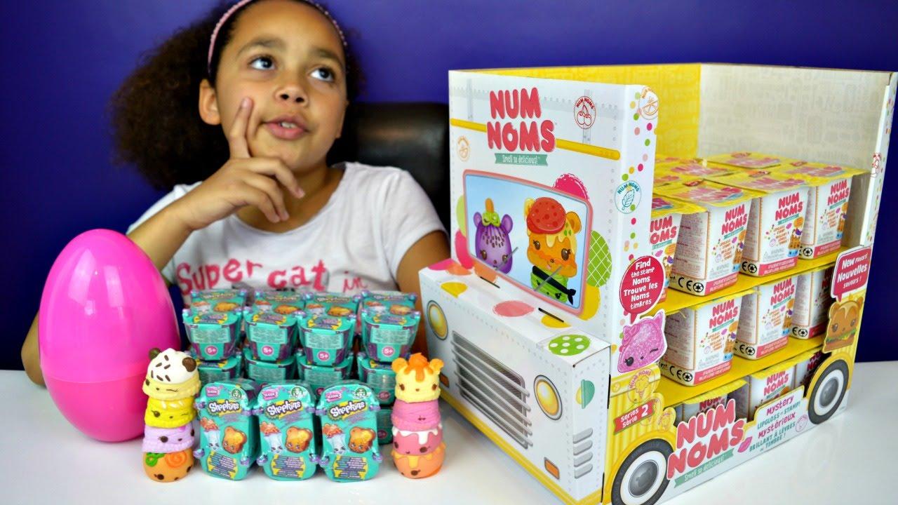 Num Noms Series 2 Vs Shopkins Season 2 Amp 3 Ice Cream