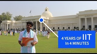 4 Years at IIT in 4 Minutes.