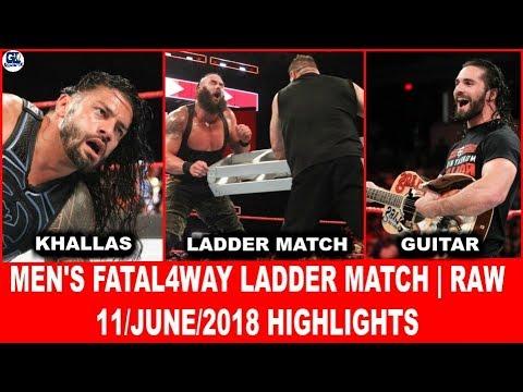 WWE Raw 06/11/2018 Highlights | WWE Monday Night 11 June 2018