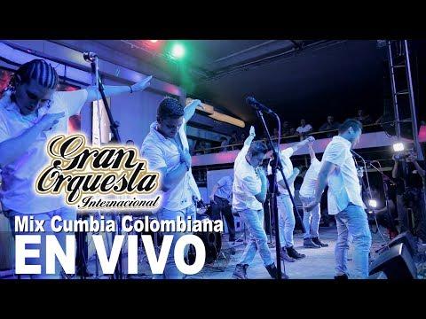 Mix Cumbia Colombiana Gran Orquesta Internacional Concierto Chiclayo Primicia 2017  4k