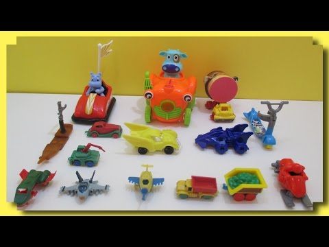 LEARN VEHICLE NAMES With Toy Cars Trucks & Airplanes Fun Educational Video For Preschool Children