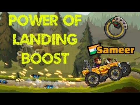 Hill Climb Racing 2 POWER OF LANDING BOOST