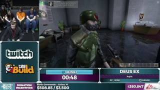 Deus Ex by Heinki in 0:39:25 - SGDQ2016 - Part 103