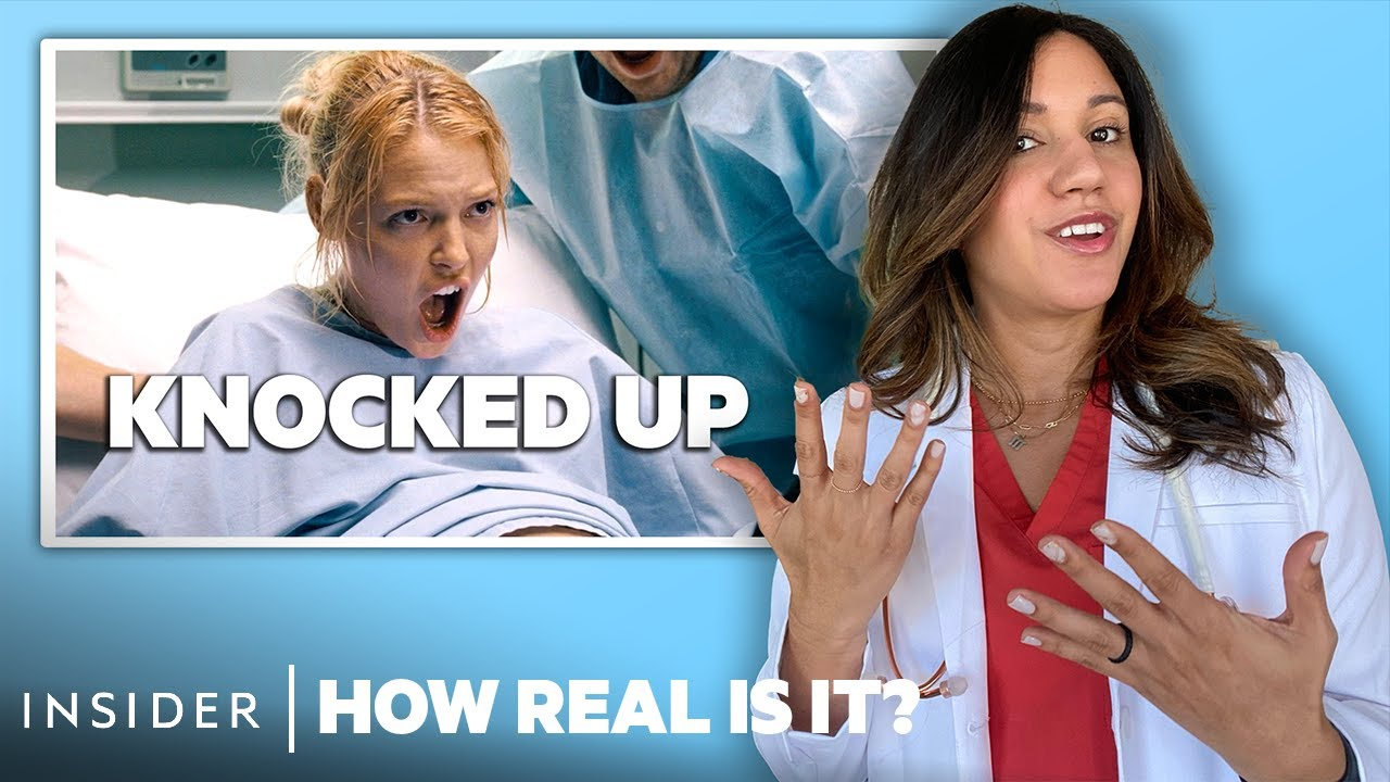 OB-GYN Rates 10 Pregnancy Scenes In Movies And TV | How Real Is It?