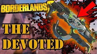 Borderlands 3 LEGENDARY WEAPON REVIEW / THE DEVOTED SMG / xbox one x gameplay