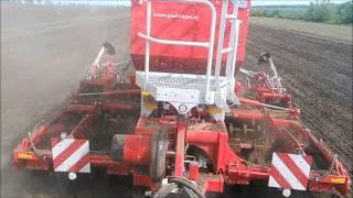 Sowing lucerne with New Holland T7.260, Pottinger Servo 45S, Pottinger Terrasem C4 Artis