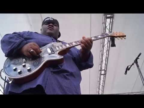 """The Thrill is Gone"" Christone ""Kingfish"" Ingram @ 2016 Winthrop Rhythm & Blues Festival 9301"