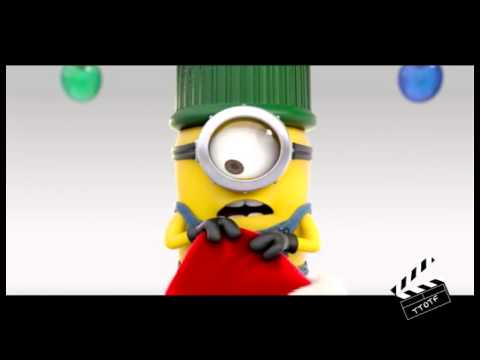 DESPICABLE ME 2 (TEASER) MINIONS WISHING U MERRY CHRISTMAS - YouTube