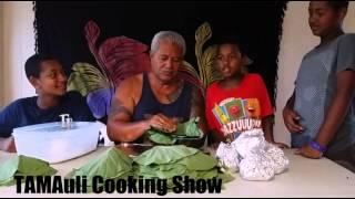 Tamauliz Cooking Show: Making Palusami With Papa