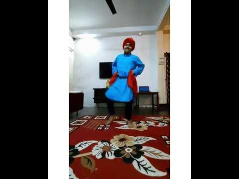 Tunak Tunak Tun Dance | Punjabi Folk Dance || Ayan Jitani ||