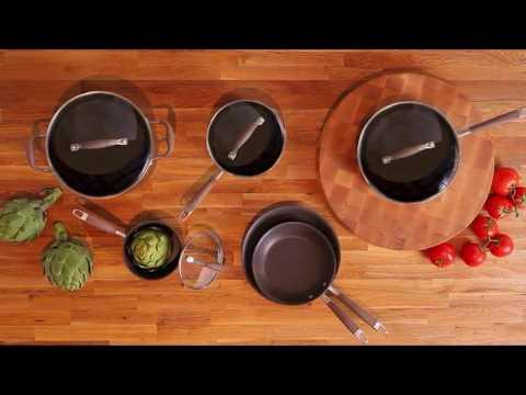 Anolon 82693 Hard Anodized Cookware Set +1 Anolon 82693 11-Piece Hard Anodized Cookware Set Review!+