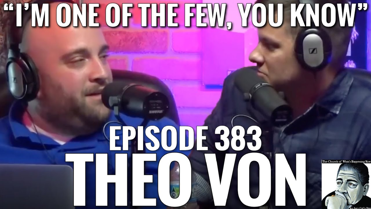THEO VON & UNCLE JOEY on the Struggles of Addiction | JOEY DIAZ CLIPS