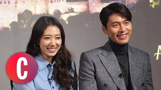 Park Shin Hye And Hyun Bin Talk About 39 Memories of the Alhambra 39