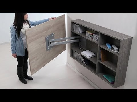 INGENIOUS SECRET AND SPACE SAVING FURNITURE THAT IS ON AN ENTIRELY NEW LEVEL
