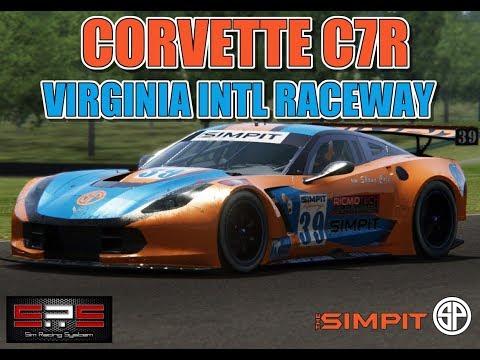 corvette c7r virginia intl raceway race 2 assetto. Black Bedroom Furniture Sets. Home Design Ideas