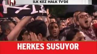 """Gezi parkı bestesi (""""Duydum ki Tayyip, Park Yıkacakmış'') - Bjk çArşı ( HALK TV )"""