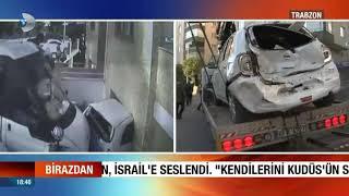 Gambar cover Enteresan Bir kaza. Araba Eve Girdi! Trabzon