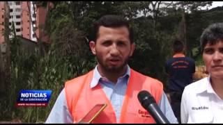 Materiales y sedimentos colapsaron quebrada La Carbonera en municipio San Cristóbal