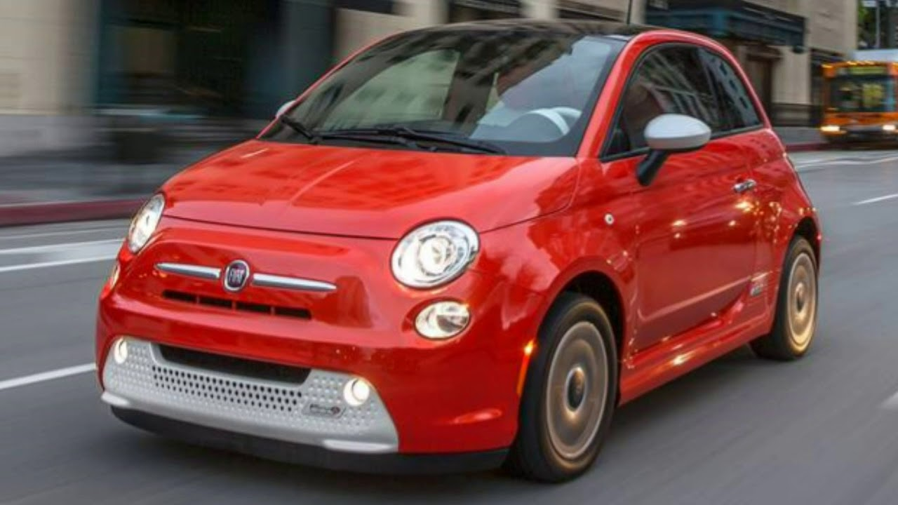 Fiat 500e 2018 Car Review