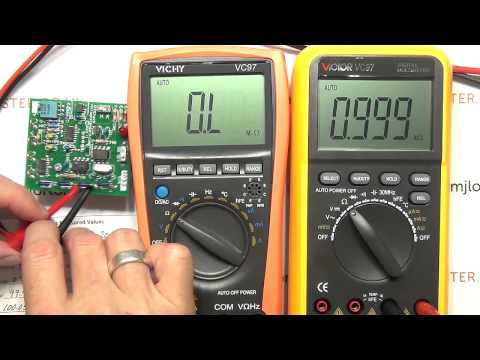 Review: Part 1 - Vichy VC97 vs Victor V97 Multimeter