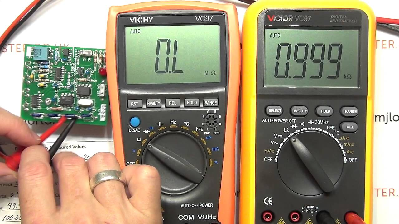 review part 1 vichy vc97 vs victor v97 multimeter youtube rh youtube com