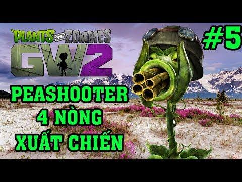 Plants Vs Zombies 2 3D - Hoa Quả Nổi Giận 2 3D: Peashooter 4 Nòng Xuất Chiến #5