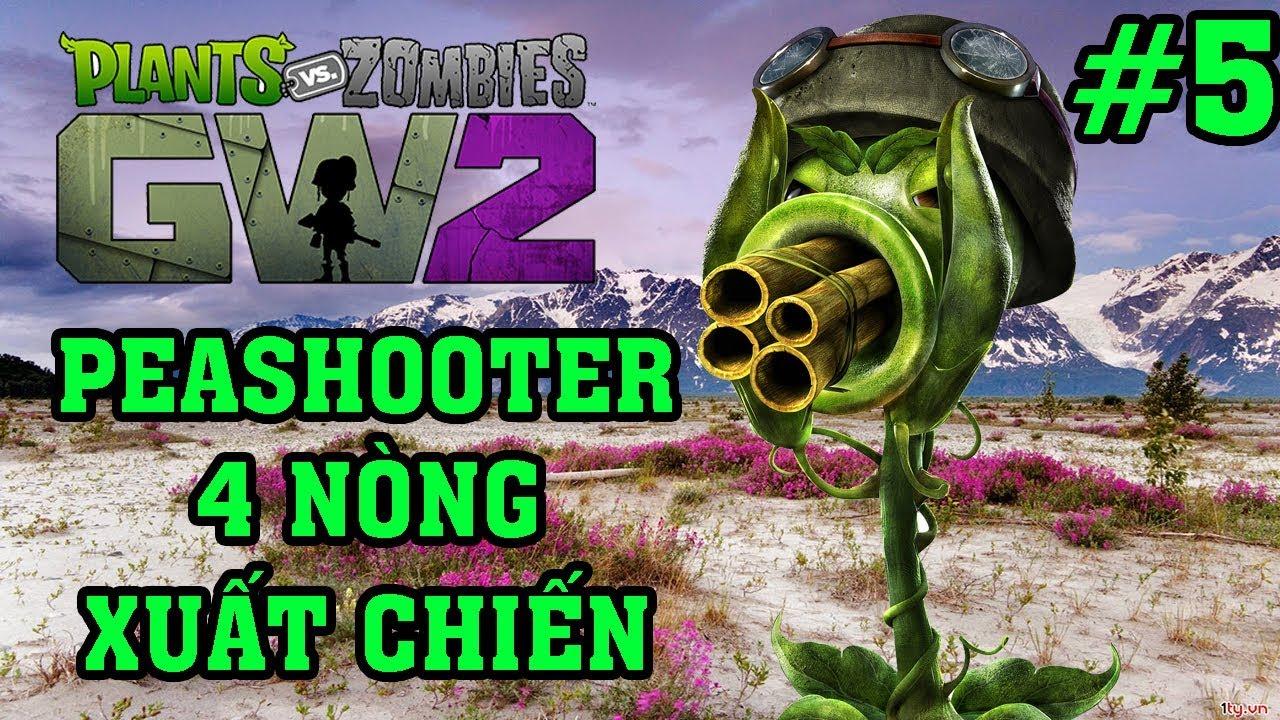 Plants Vs Zombies 2 3D – Hoa Quả Nổi Giận 2 3D: Peashooter 4 Nòng Xuất Chiến #5