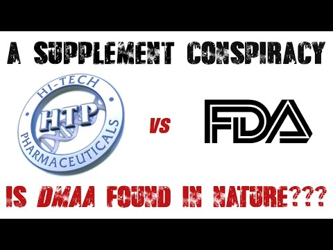 A Supplement Conspiracy: The FDA vs. Hi-Tech DMAA Lawsuit