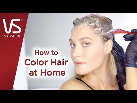 Hair Dye Tips: How to Color Your Hair At Home | Vidal Sassoon Salonist