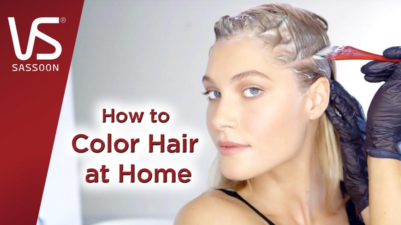 hair dye tips color