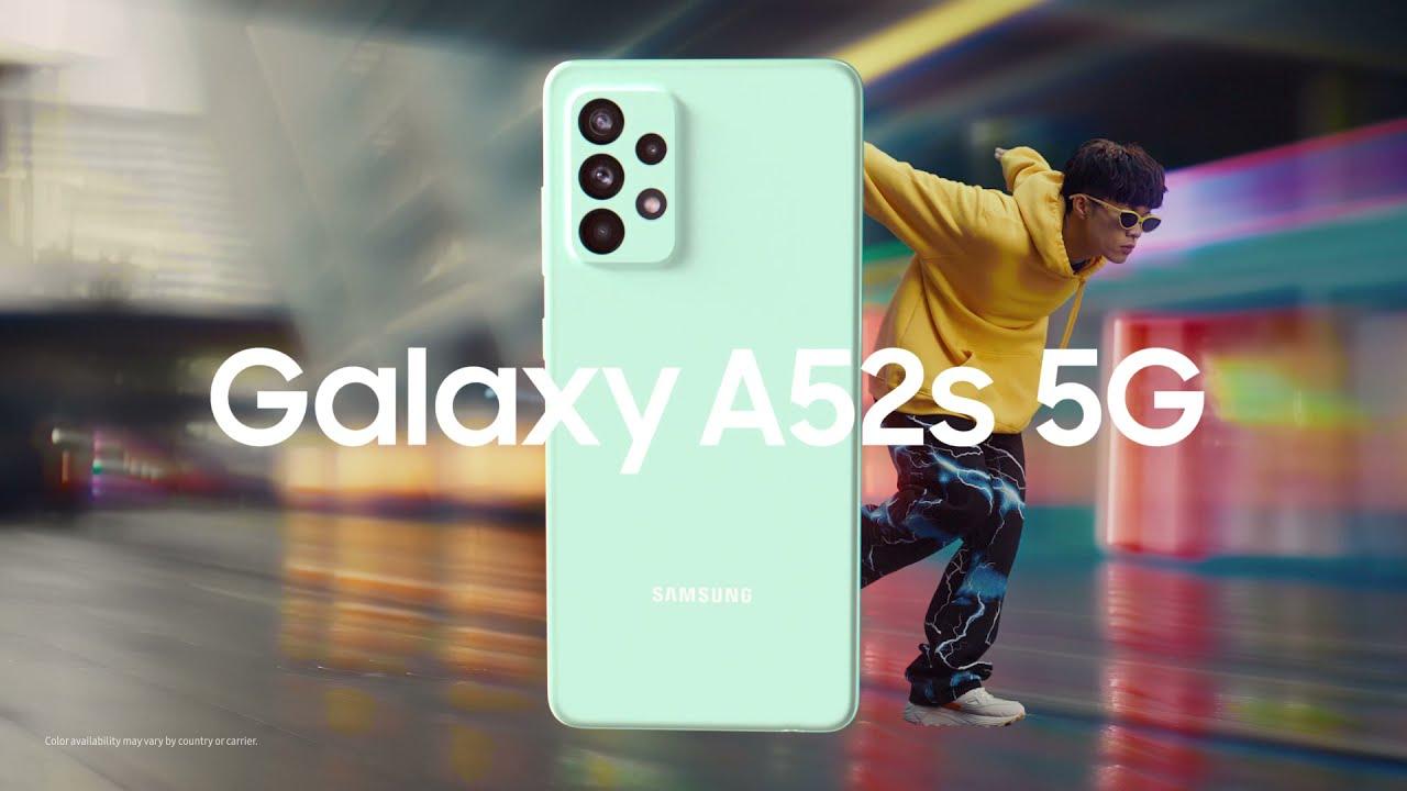 Galaxy A52s 5G: เร็วเต็มสปีด   Samsung