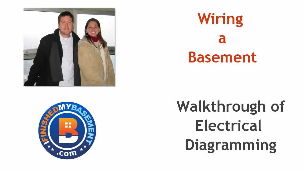 basement electrical wiring design for your basement youtube