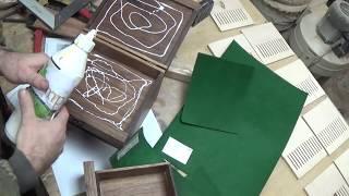 видео Деревянные шкатулки для украшений