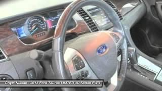 2013 Ford Taurus LIMTED N16004B